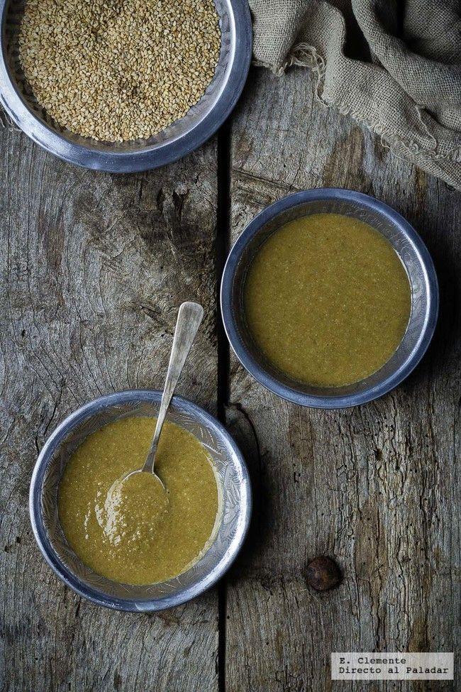 Cómo hacer salsa tahini casera. Receta | Directo Al Paladar | Bloglovin'