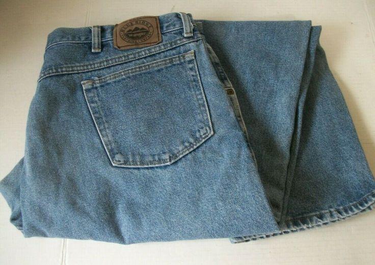 Mens wrangler blue ridge relaxed fit jeans 42 x 32 100