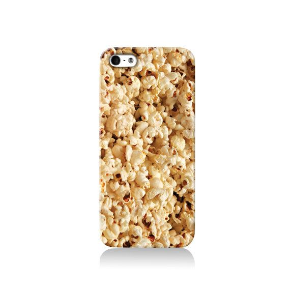 Popcorn is available for iPhone 4/4S, iPhone 5/5s, iPhone 5c and new iPhone 6. The picture shows the design on an iPhone 5/5s case    Our cases
