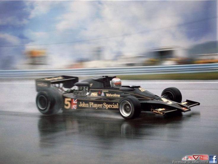 F1 Mario Andretti On Lotus 78 1978 Zandvoort 0 Formula