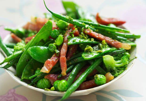 Wok de haricots verts surgelés et petits légumes aux lardonsVoir la recette duWok de haricots verts surgelés et petits légumes aux lardons >>