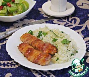 Ароматный рис с куриными грудками