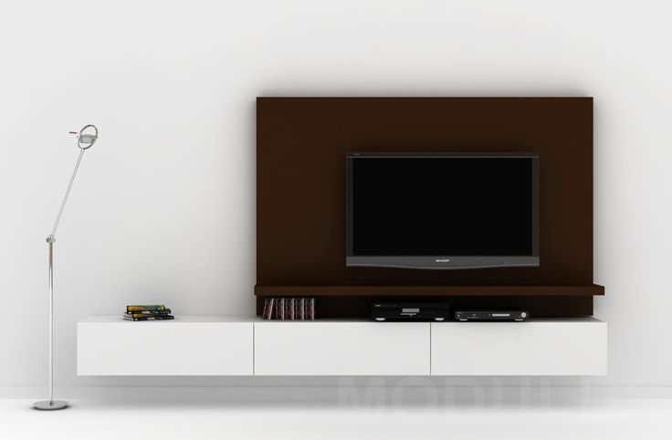 17 best ideas about tv rack on pinterest tv wall shelves for Muebles de living