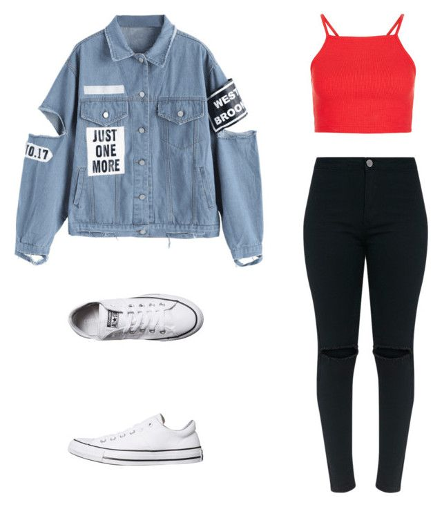 """""""Outfit"""" by vicky-skoufh on Polyvore featuring Converse"""