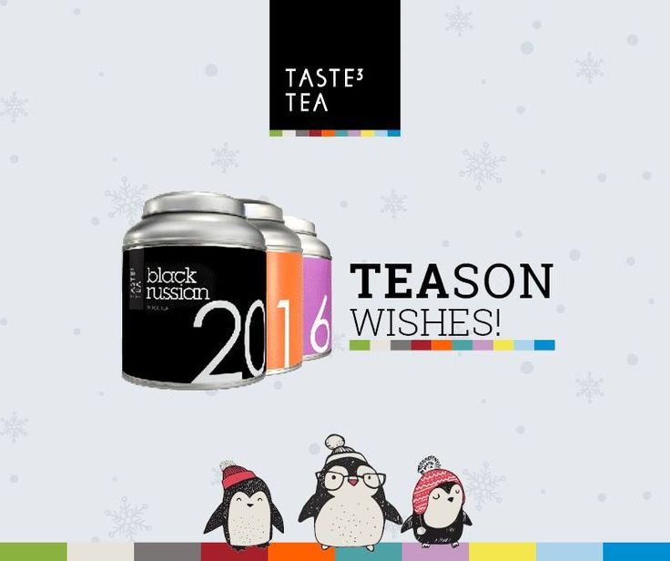 TASTE3 TEA 2016 TEASON WISHES