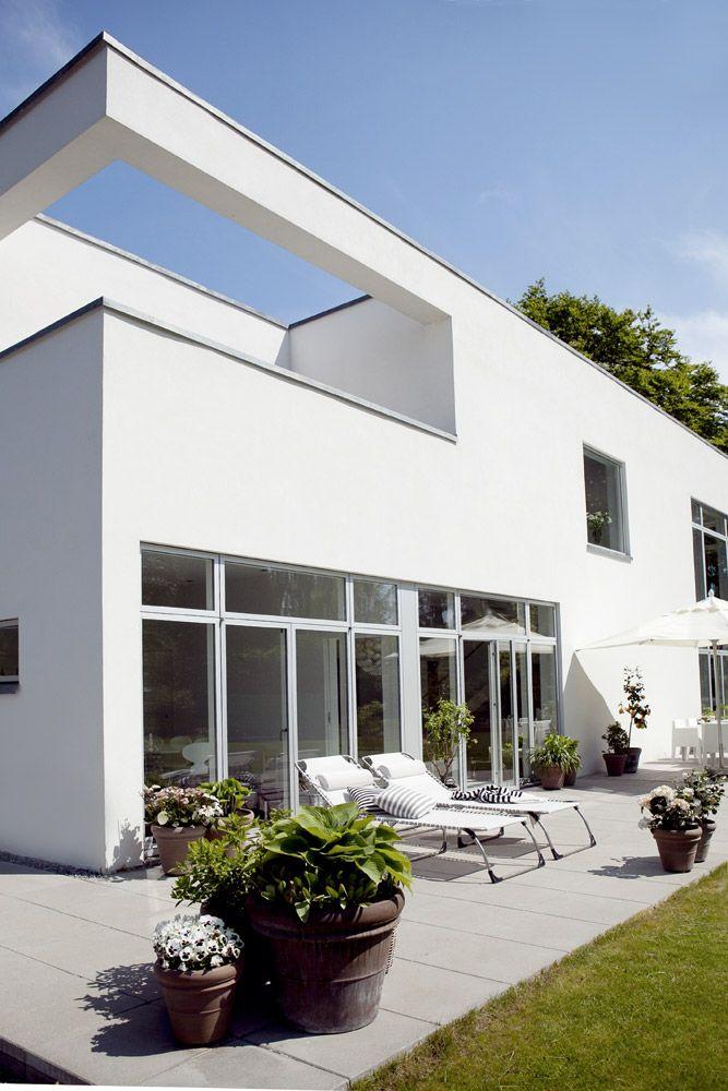 Moderne funkis t t p naturen boliger bo bedre for Funkis house