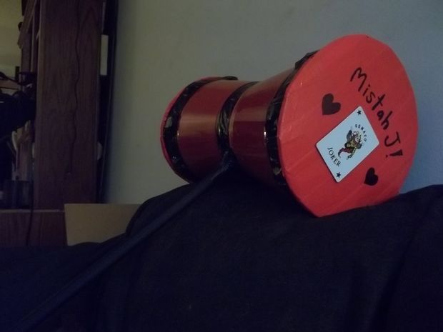 Picture of Create a Harley Quinn Hammer on the Cheap!