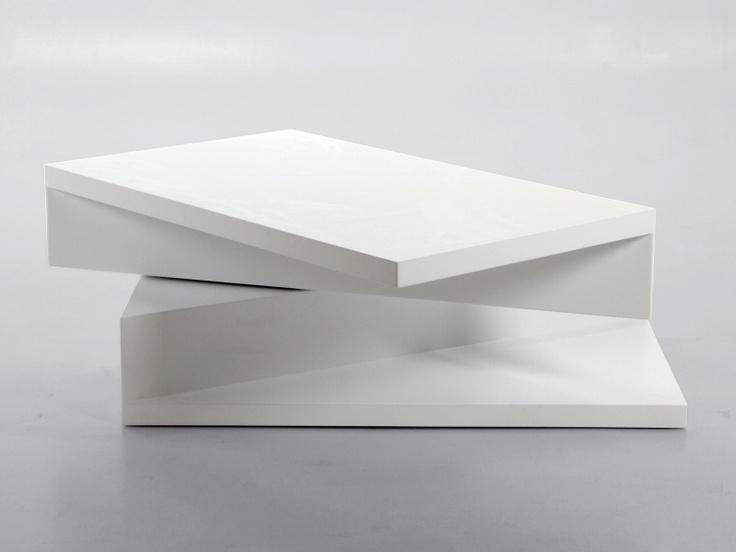 Konferenční stolek otočný hranatý Pull