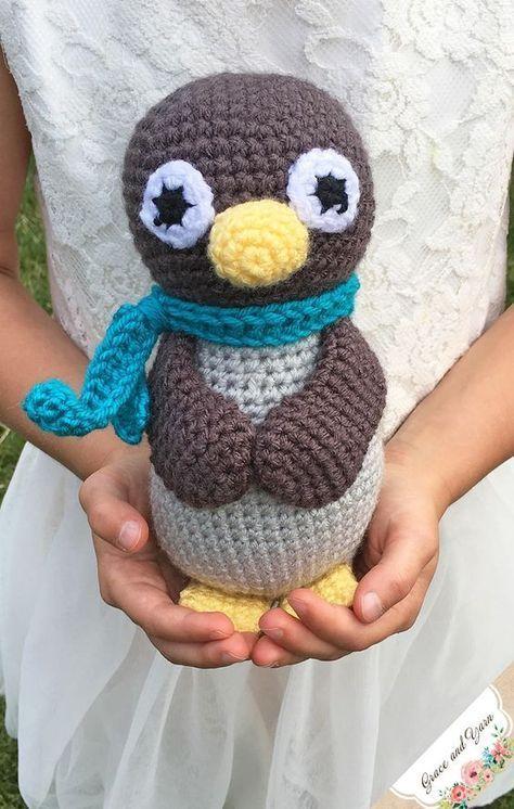 Amigurumi Penguin A Free Crochet Pattern Beesten Haken Breien
