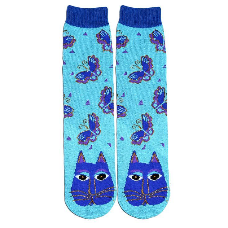 gattose calze di Laurel Burch antiscivolo www.gattosi.com