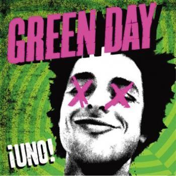 """L'album dei #GreenDay intitolato """"Uno!""""."""