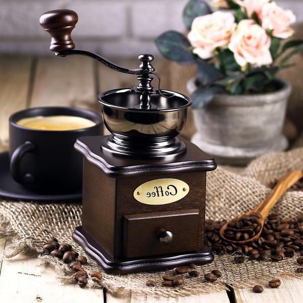 Ручная кофемолка Hot Contents Кения-Black