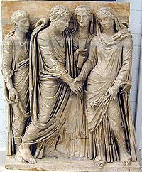Wedding in Ancient Rome