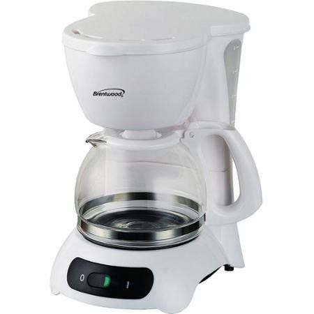 650 Watts Coffee Maker 4 Cup Capacity Tempered HeatResistant Glass Carafe White -- Check this awesome product by going to the link at the image.