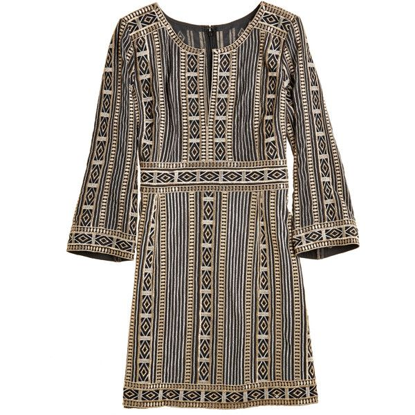 CALYPSO St. Barth Nitisa Embroidered Sheath Dress (775 CAD) ❤ liked on Polyvor... 1