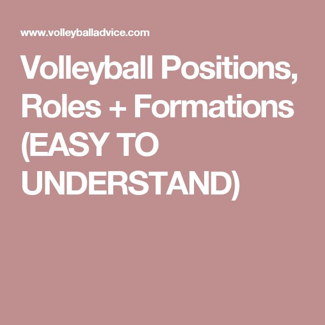 Volleyball Positions, Roles + Formations (EASY TO UNDERSTAND)