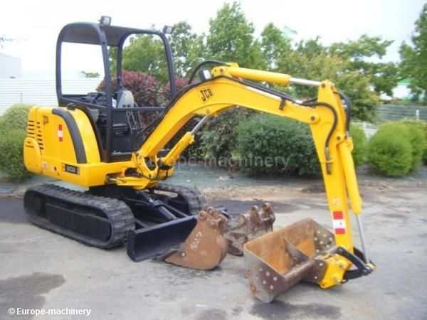 Jcb 802 802 4 802super Mini Excavator Service Repair