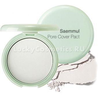 Компактная пудра The Saem Saemmul Perfect Pore Pact