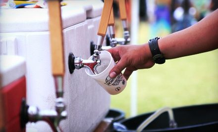 Groupon - Admission for Two or Four to Houston Beer Fest on Saturday, June 8, at 1 p.m. (Half Off). Groupon deal price: $25.00
