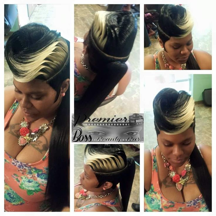 Pin by Black Hair Information  Coils Media Ltd on Weaves Wigs  Extensions  Hair styles Long