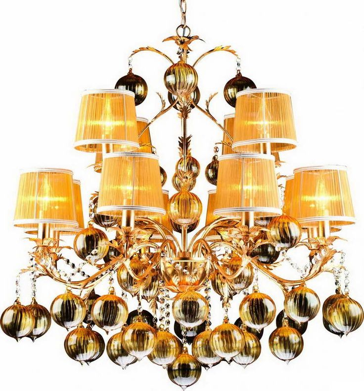 Люстра Подвесная A1199LM-8-4GO Arte Lamp
