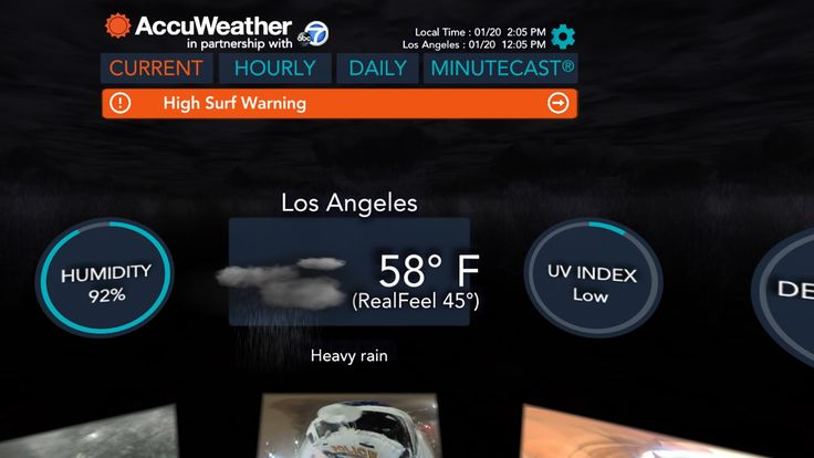 Checking the weather report is usually a colorless simple experience -- a glance at an app to see the five day forecast or check the news for any major storms or events. If you have a Samsung Gear VR device however your daily forecast could soon b...