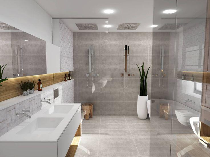 17 meilleures id es propos de salle de bain scandinave for Idee de chambre avec salle de bain