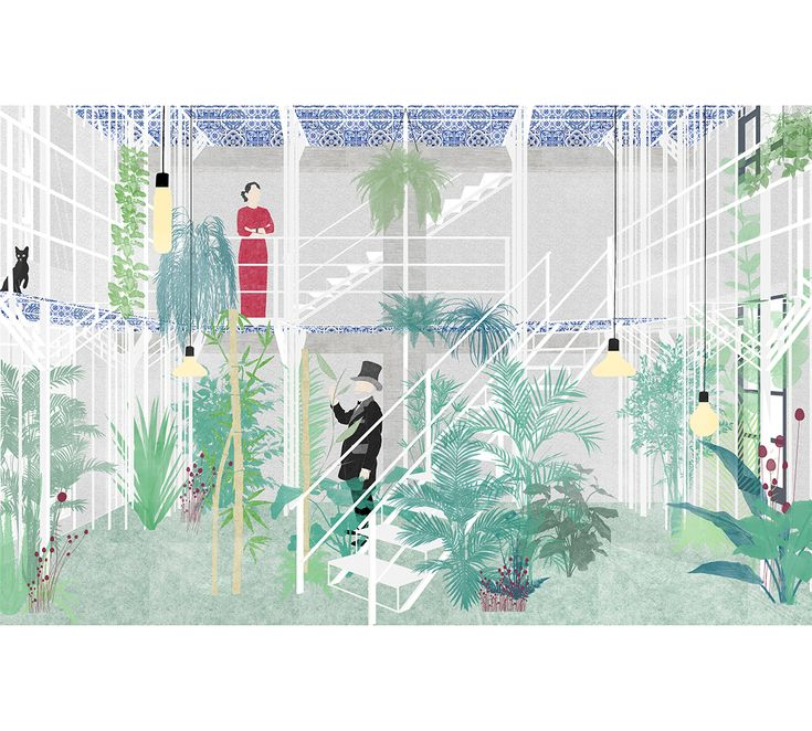 Del verde - arcipelago - architettura collettiva