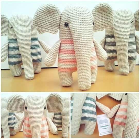 MiGus crochet elephant