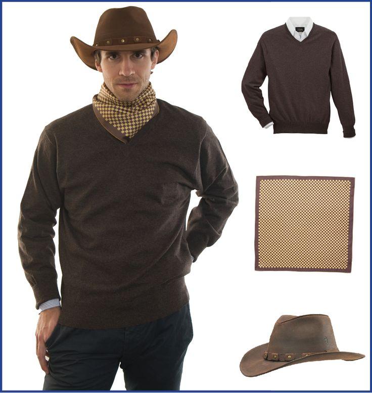 Pánský outfit pro inspiraci - westernový