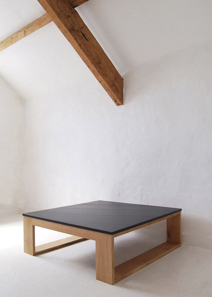 pacha design / reclaimed wood and slate table
