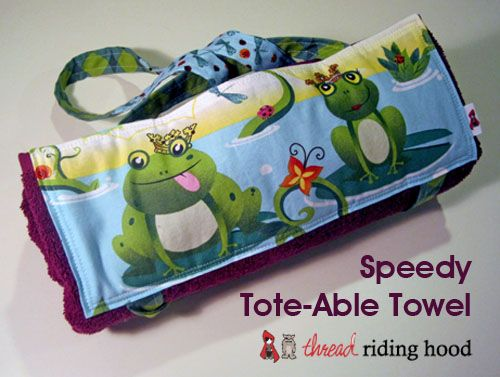 Speedy Tote-Able Towel