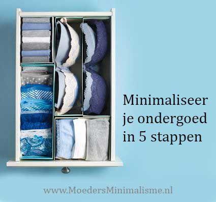 Minimaliseer je ondergoed #minimalisme