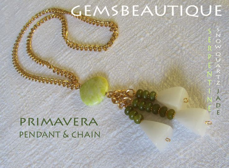 #Primavera #pendant  #Gemstone #Jewelry by #GemsBeautique