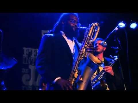 "Jason Marshall, Baritone Sax - ""Cherokee"" (Montreal Jazz Festival, 28 Ju..."