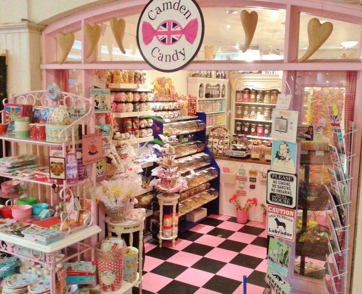 Candy store, Camden Lock Market