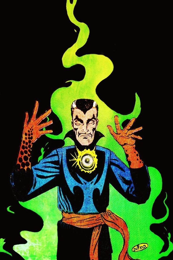 Dr. Strange - art by Steve Ditko (1963)