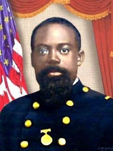 Robert Gould Shaw Leads the 54th Regiment. Sergeant William Harvey Carney, First African American Medal of Honor Recipient.