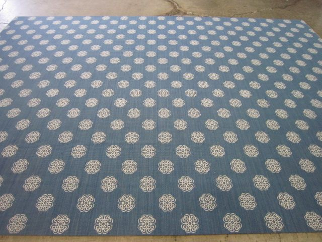 Asiana Marine Blue wool  available as carpeting, area rugs or runners!