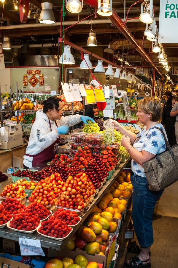 Granville Island Public Market In Vancouver Canada It S Home To