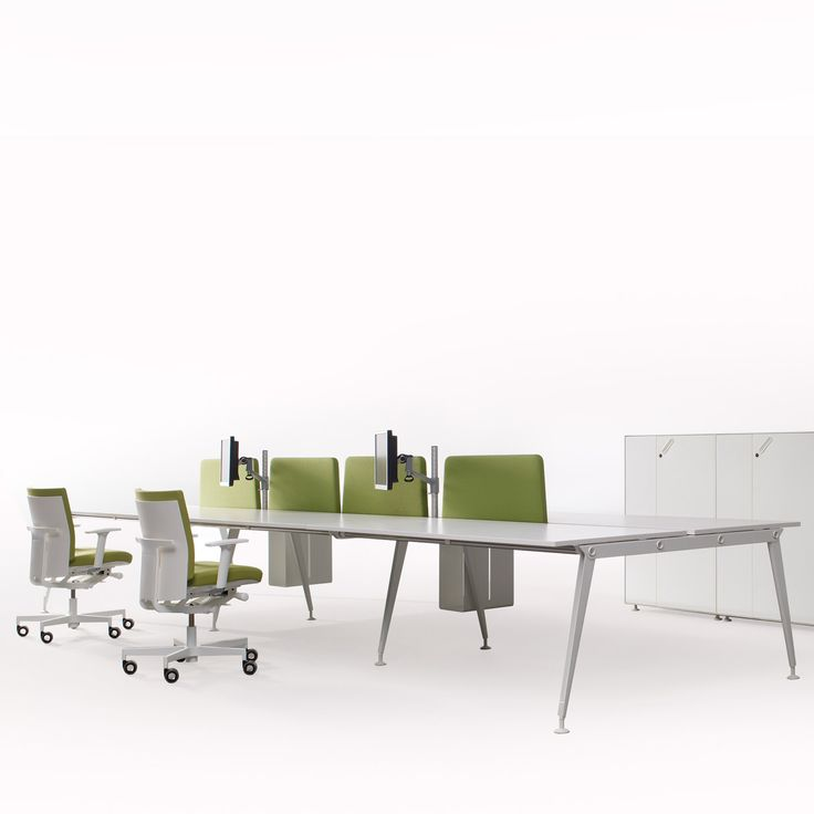 Oxo Office Bench Desks Provides The Office With A Complete Team Workstation  Solution With Complimentary Storage