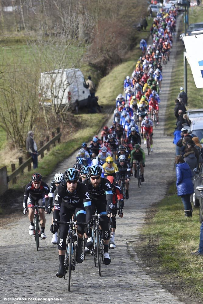 Saturday was a good day for Ian Stannard and the Sky team as he did the double in the Omloop Het Nieuwsblad.