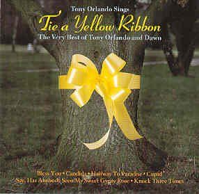 Tie a Yellow Ribbon - Tony Orlando & Dawn. Admit it, you're hearing it play in your head, too.