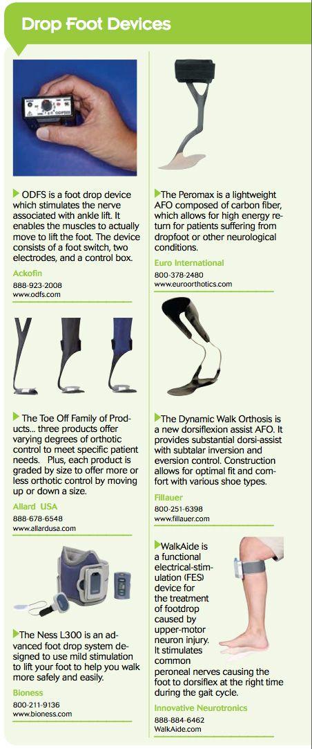 Controlling drop foot: Beyond standard AFOs