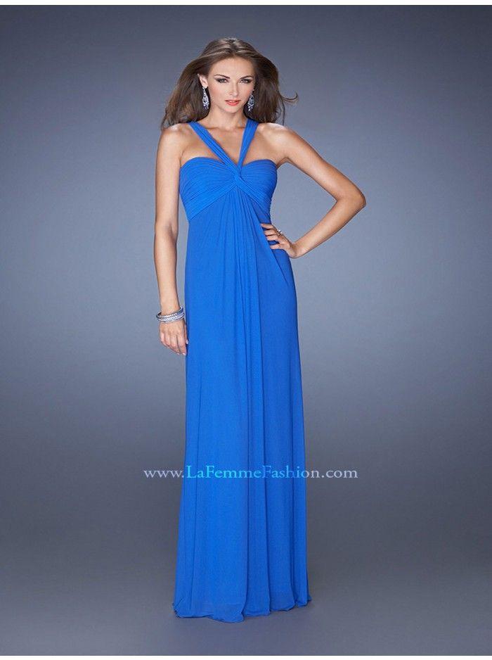 56 best La Femme prom dresses images on Pinterest   Chiffon prom ...