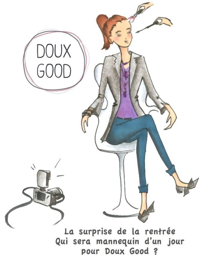Concours : Mannequin d'un jour pour Doux Good