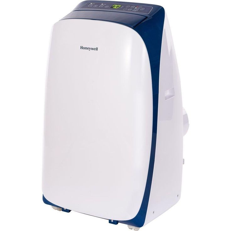 Honeywell HL10CESWB HL Series 10,000 BTU Portable Air Conditioner with Remote Control - White/Blue - Blue