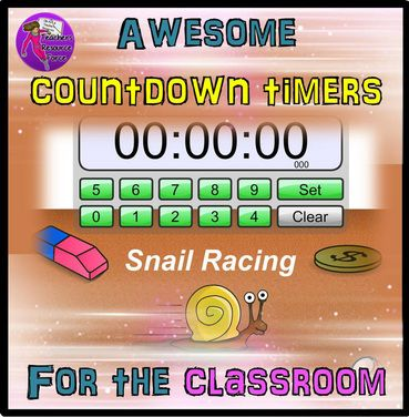 Countdown timers are a fantastic tool in maintaining a good pace in a lesson and keeping students focused.   Here are some awesome timers you can use in your lessons!  www.teachersresourceforce.weebly.com
