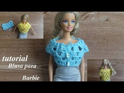 Blusa para barbie - YouTube