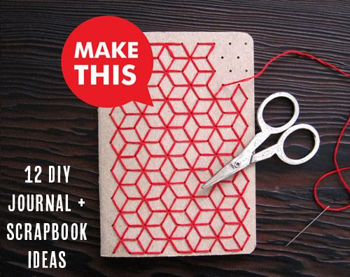 12 DIY journal and scrapbook ideas from Babble.com